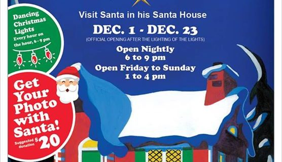 Please share this information regarding the Santa …