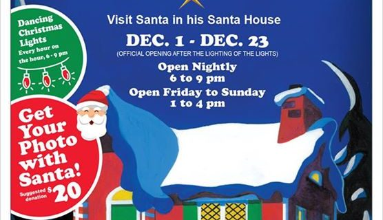 Santa's House is up and running in Victoria Park. …