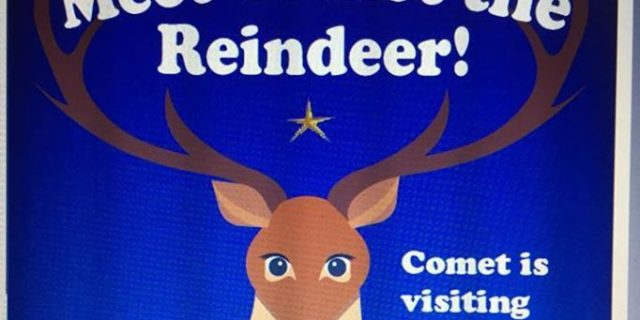 Comet will be at Santa's House this Saturday and …