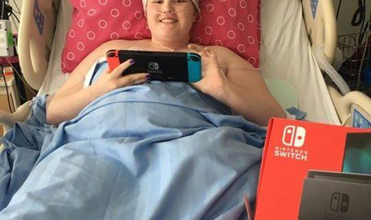 Alyssa has had some set backs battling cancer so …